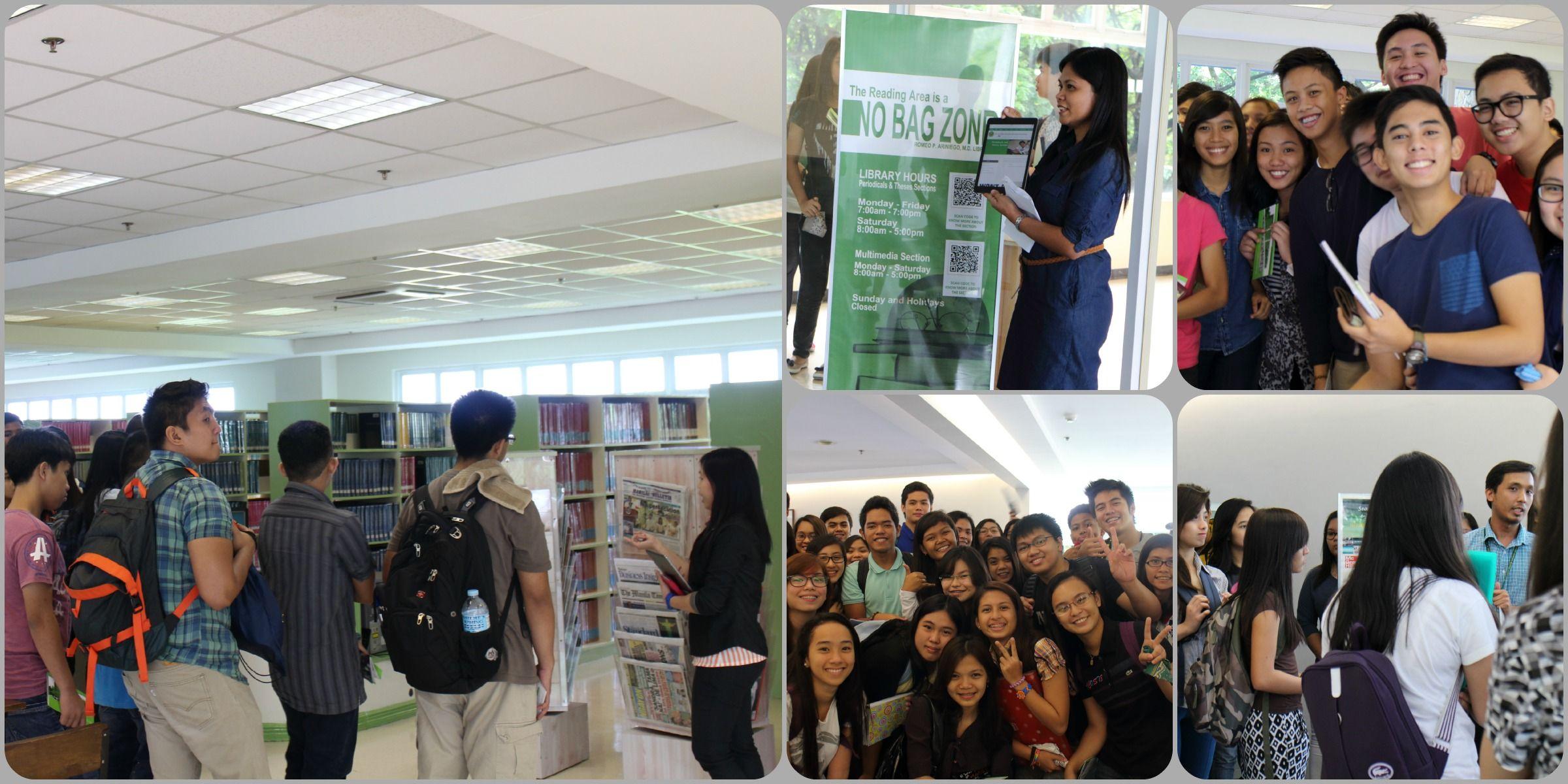 2014 undergraduate library orientation