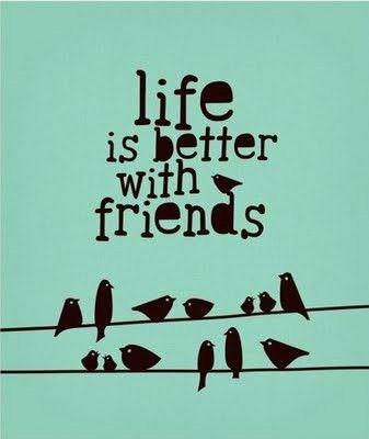 disfrutar a mis amigos