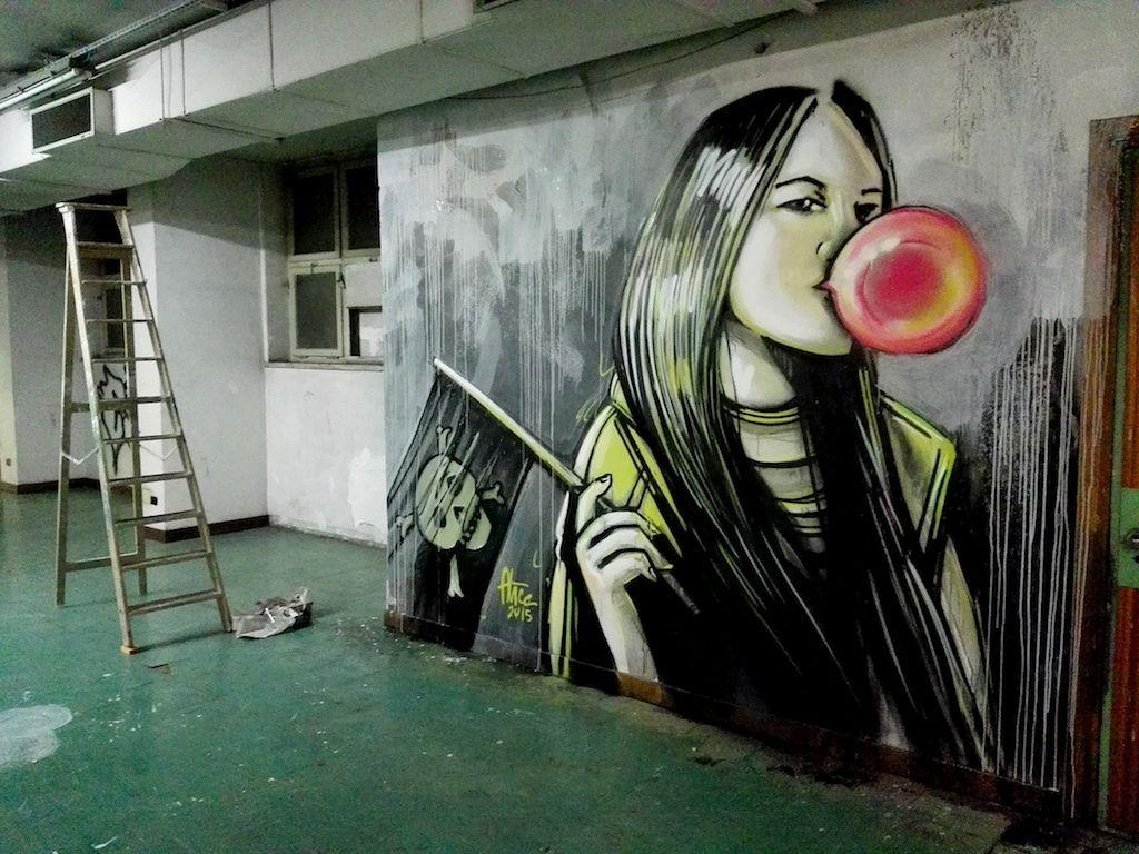 Alicè - Italian Street Artist - Roma (IT) - 01/2015 - |*/| #alice #alicepasquini #streetart