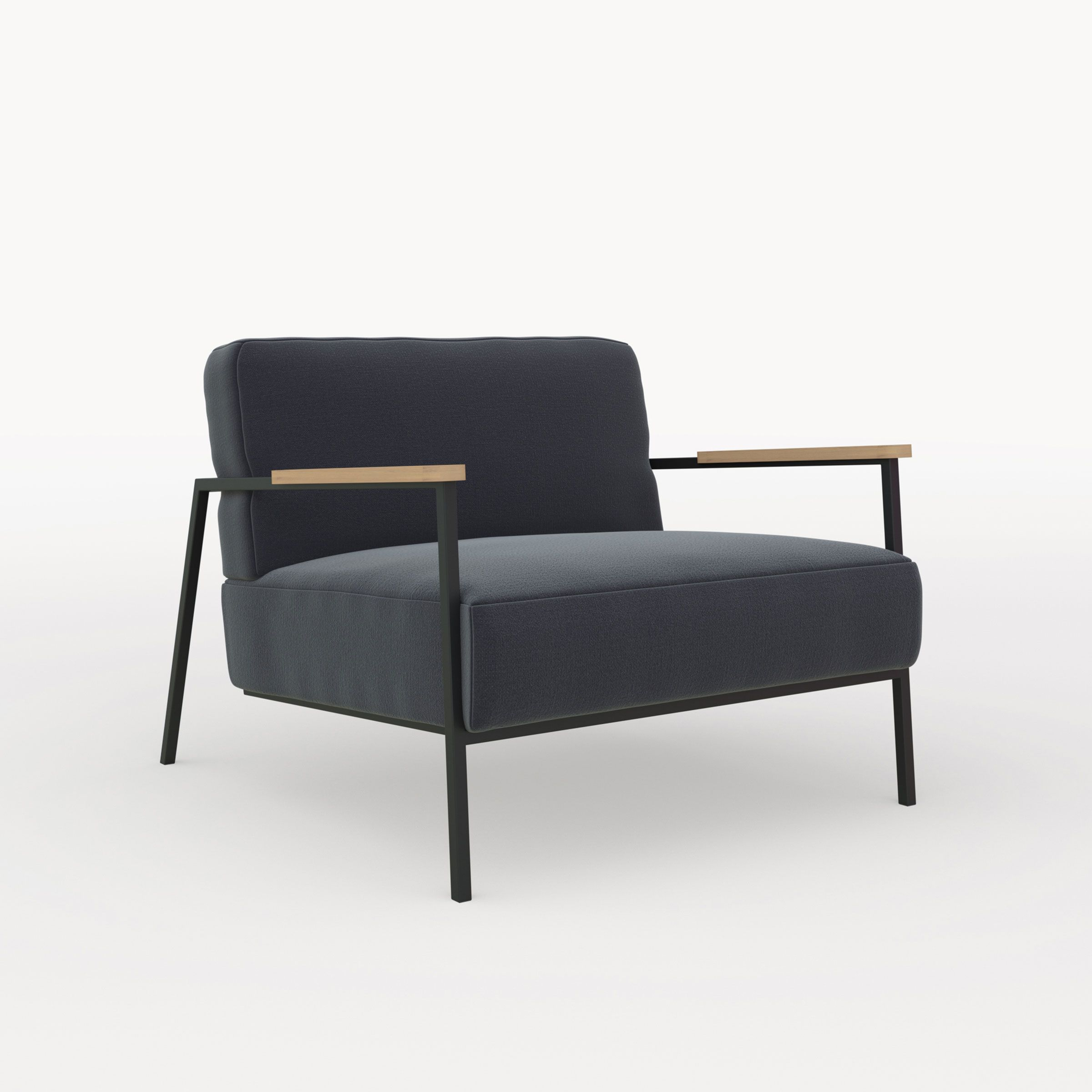 Design Fauteuil Co Lounge Stoel STUDIO HENK Kvadrat   Woonkamer ...