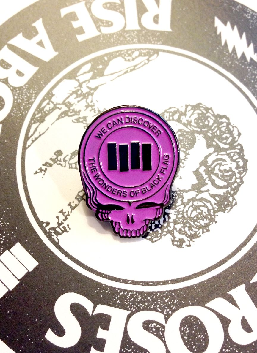 Metal enamel pin Comes with cool stuff. (With images