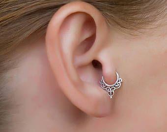 New Fashion femmes élégant Rose Cristaux Ear Stud Boucle d/'oreille Coupe argent sterling 925