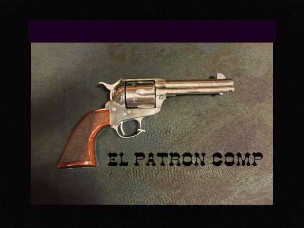 stainless steel uberti el patron competition 4 75 barrel guns