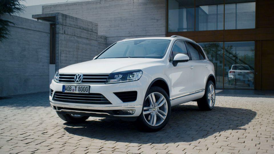Der Touareg. < Volkswagen Touareg - Bereit für was auch immer.