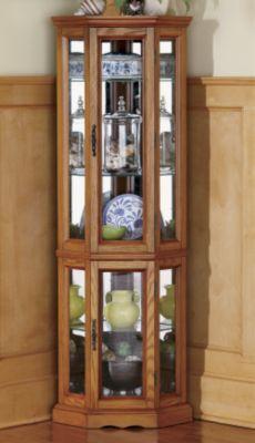 Corner Curio cabinet, $200 | For the Home | Pinterest | Corner