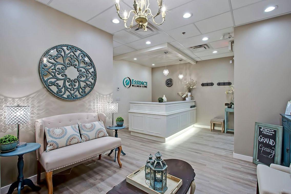 Essencewellness Waitingroom Newclinic Design Receptiondesk