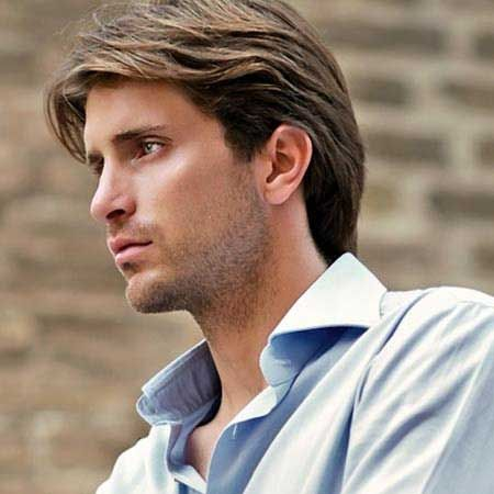 He Likes This The Best Mens Hairstyles Medium Mens Medium Length Hairstyles Medium Length Hair Styles