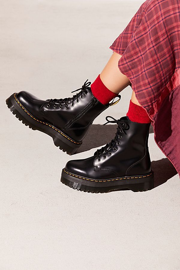 Dr. Martens Jadon Lace Up Boot | Dr martens boots, Shoe