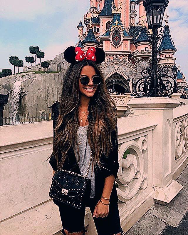 """Photo of Stephanie Abu-Sbeih on Instagram: """"Happiest girl today 💖💖 #Disneyland"""""""