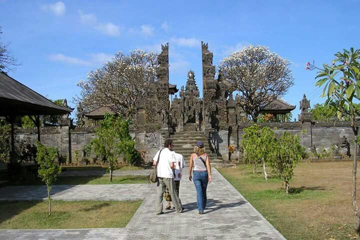 Meduwe Karang Temple is a beautiful Hindu temple located in Kubutambahan Village, Singaraja, Bali, INDONESIA