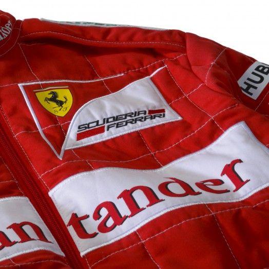 Kid S Scuderia Ferrari F1 Driver Replica Racing Suit Ferrari Store Racing Suit Ferrari F1 F1 Drivers