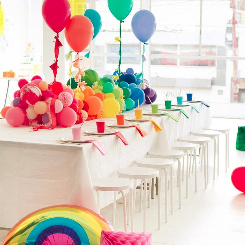 rainbow party odds and ends pinterest geburtstag geburtstagsparty und kinder geburtstag. Black Bedroom Furniture Sets. Home Design Ideas