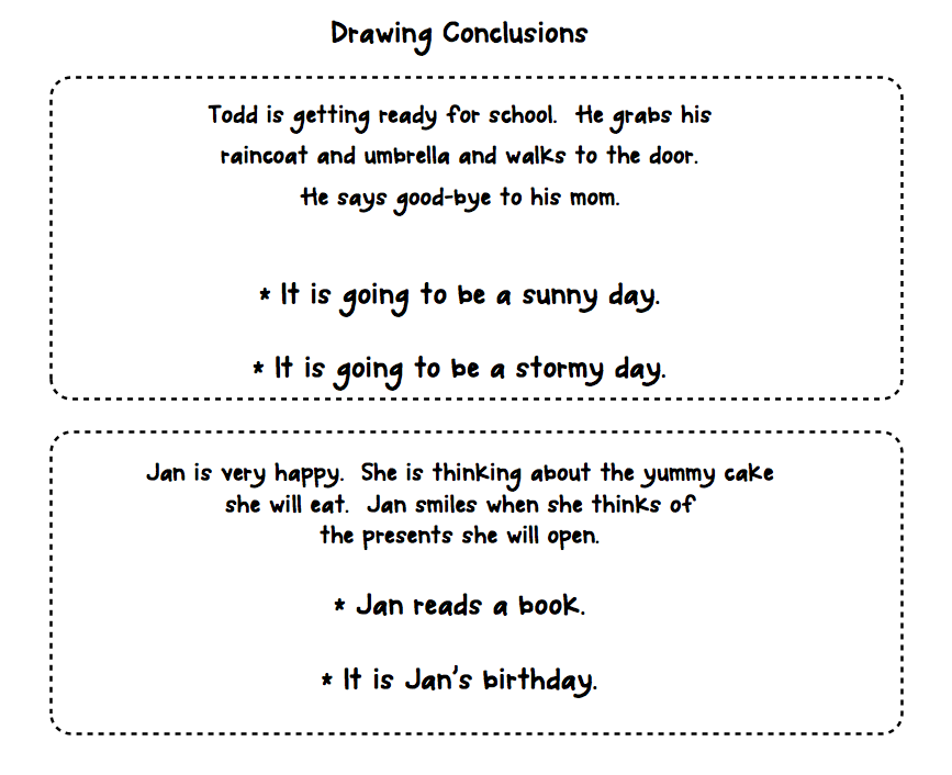 Worksheet Drawing Conclusions Worksheets 1000 images about drawing conclusions infer on pinterest anchor charts graphic organizers and funny road signs