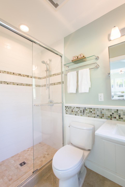 Elegant Three Piece Guest Bathroom Elegant Three