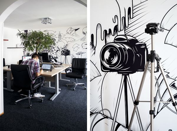 Appricot Office Walls on Behance
