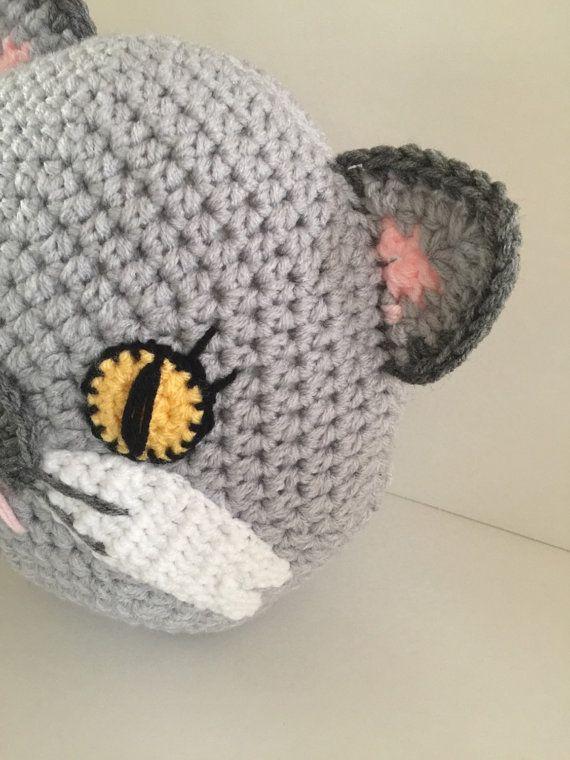 Crochet cat pillow | Gatos de ganchillo, Ganchillo y Gato