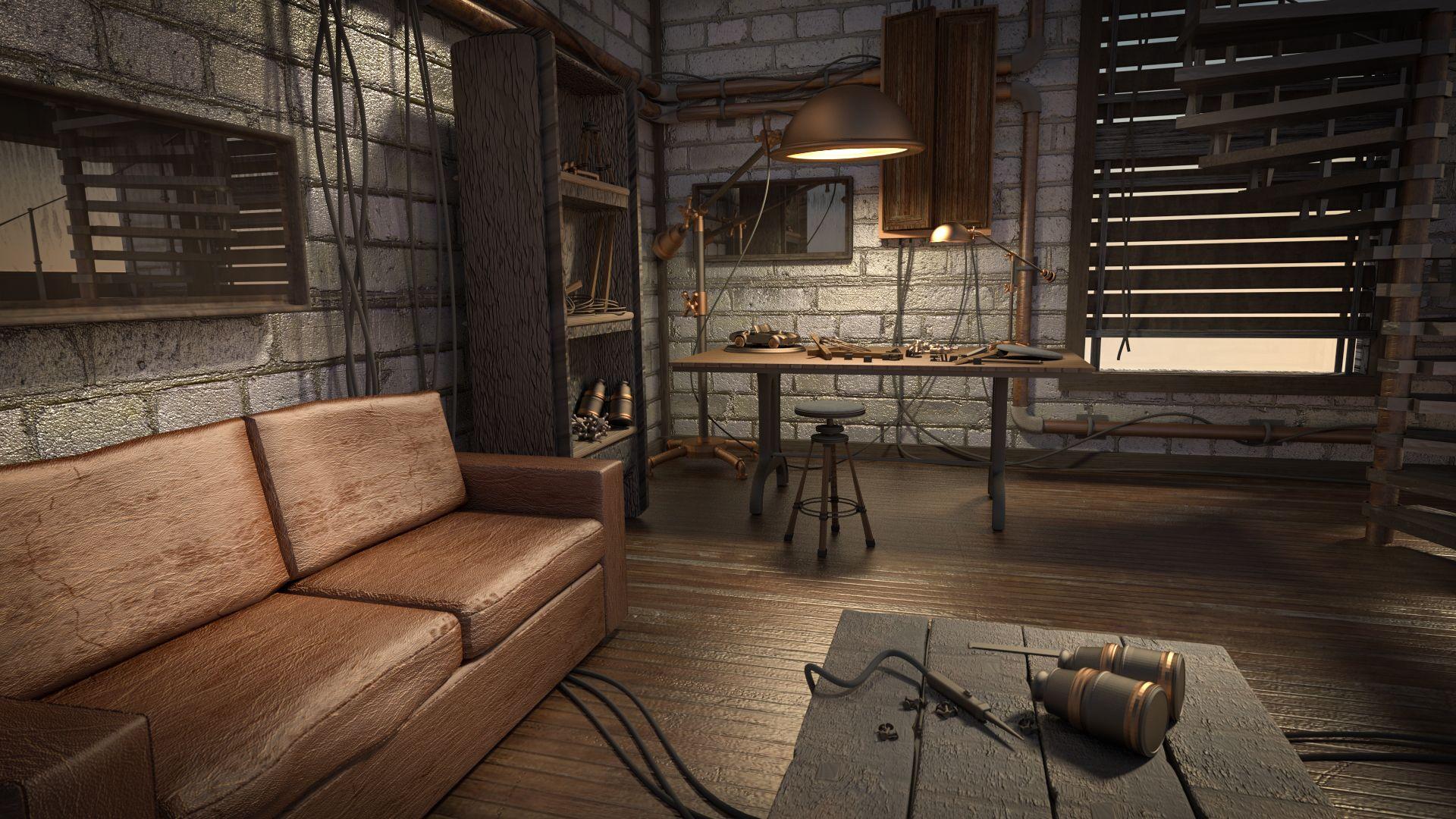 Explore Steampunk Bedroom, Steampunk Interior, And More