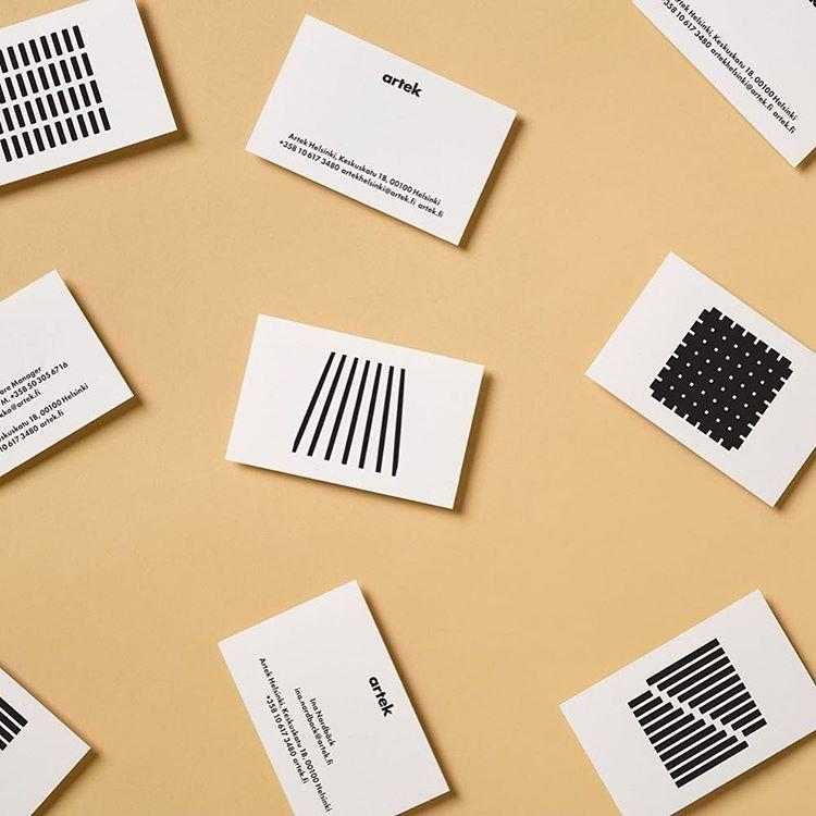 いいね!790件、コメント3件 ― Mindsparkle Magさん(@mindsparklemagazine)のInstagramアカウント: 「Artek Flagship Store Identity by @_tsto #branding #color #corporatedesign #businesscard #stationery…」