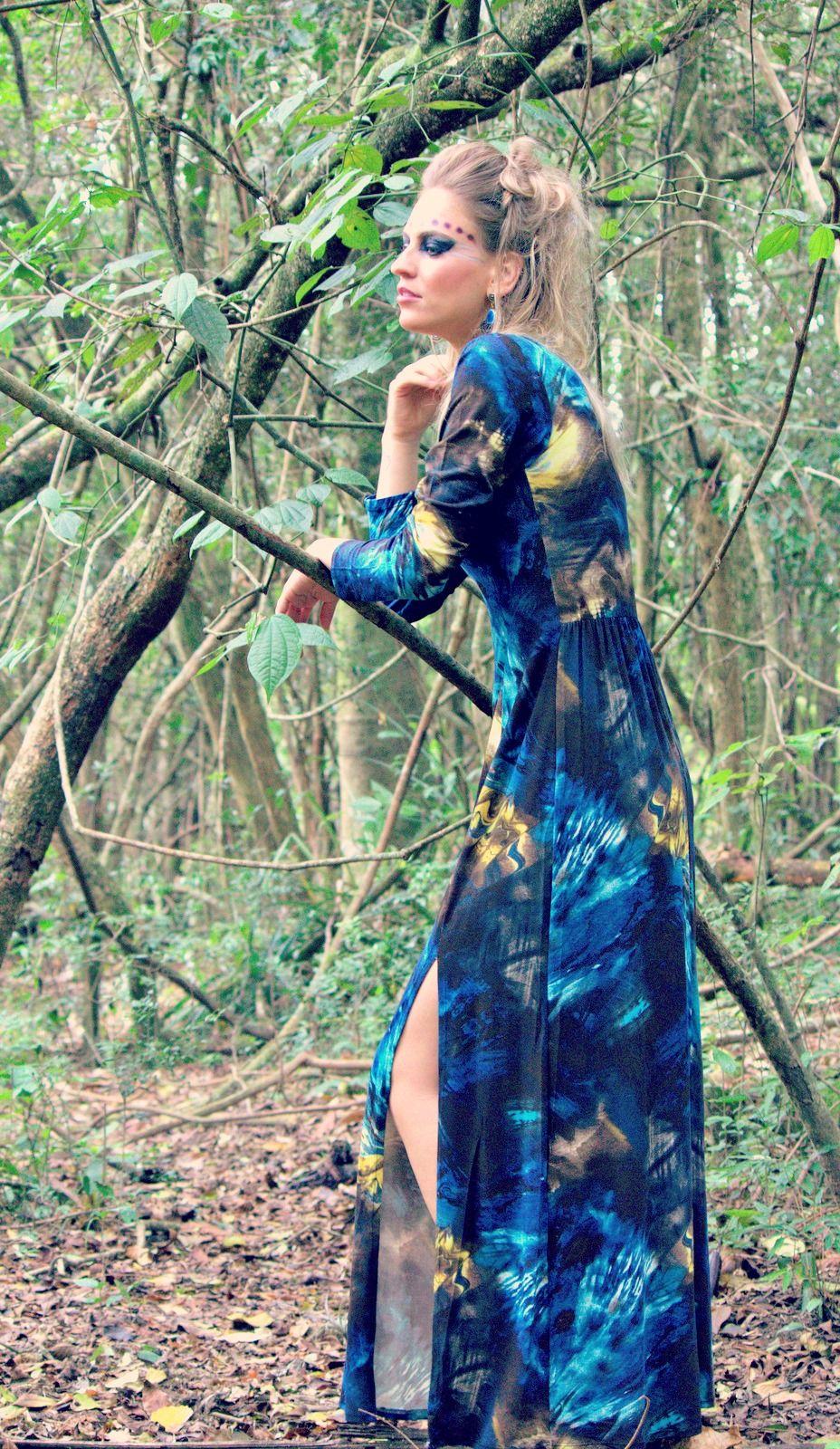 Editorial Mulheres da Floresta - Inverno 2014. www.asuamaneira.com.br by Ateliê Evolução Eco