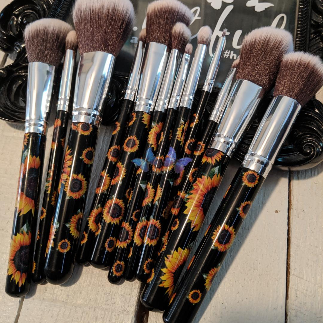 Sunflower Makeup Brushes Makeup brushes, Makeup, Makeup