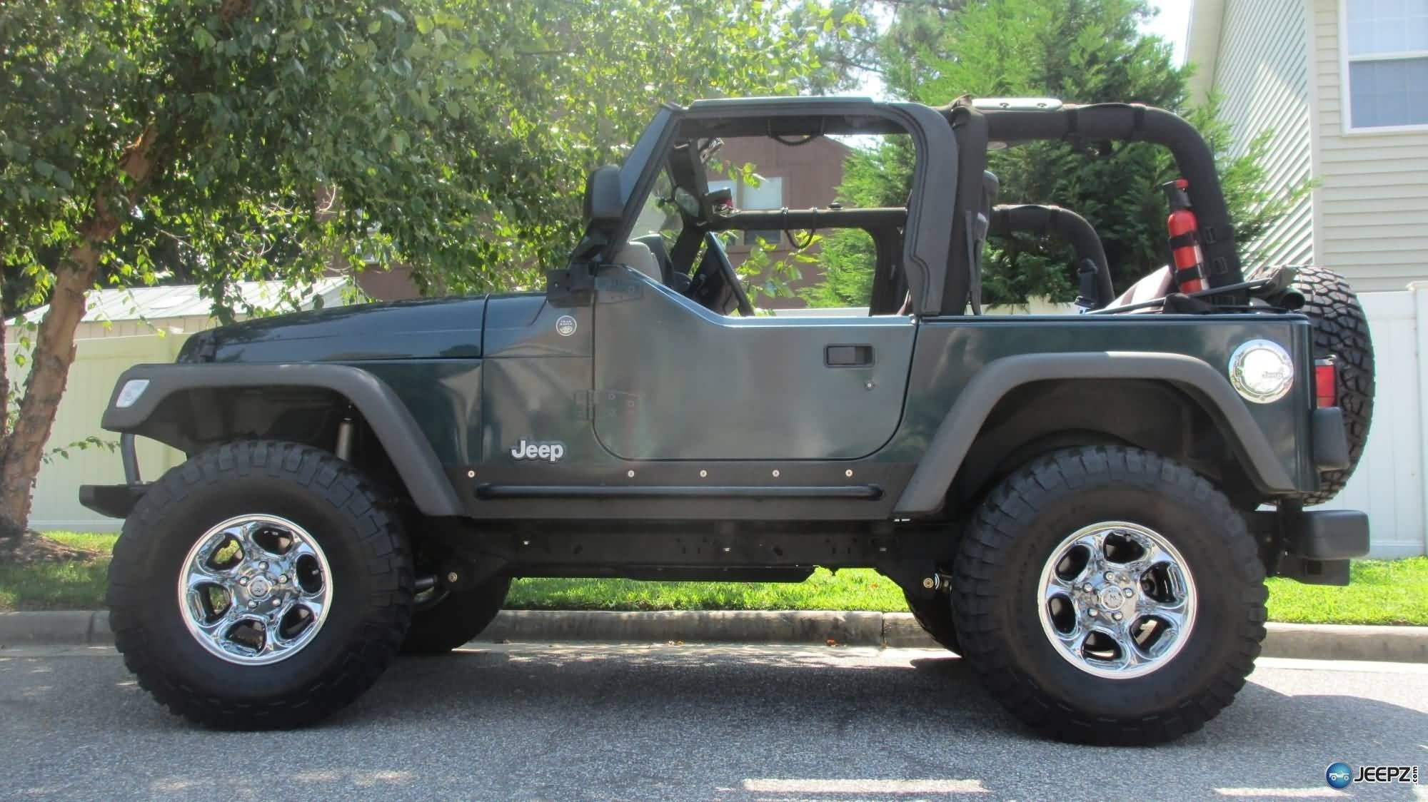 2005 jeep wrangler tj with high clearance skid plates tummy tuck