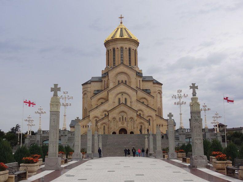 Cathédrale de  Tbilissi