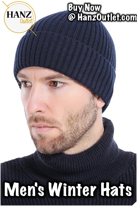 fcbaa886032e3 Fashionable Knit Black Hats Autumn Hats Thick and Warm Hats Skullies Peas  Soft Knitted Woolen Cotton  FashionableKnit  Hats  WarmHats  mansHats   hanzoutlet