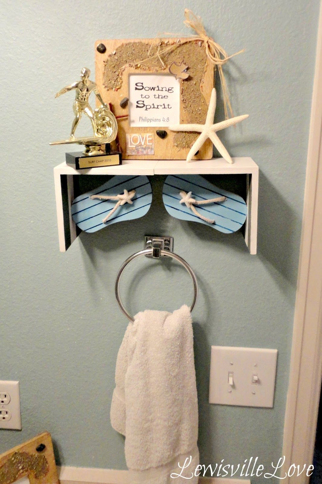 Pin By Rebecca Hall On Nautical And Beach Bathroom Decor Ideas In