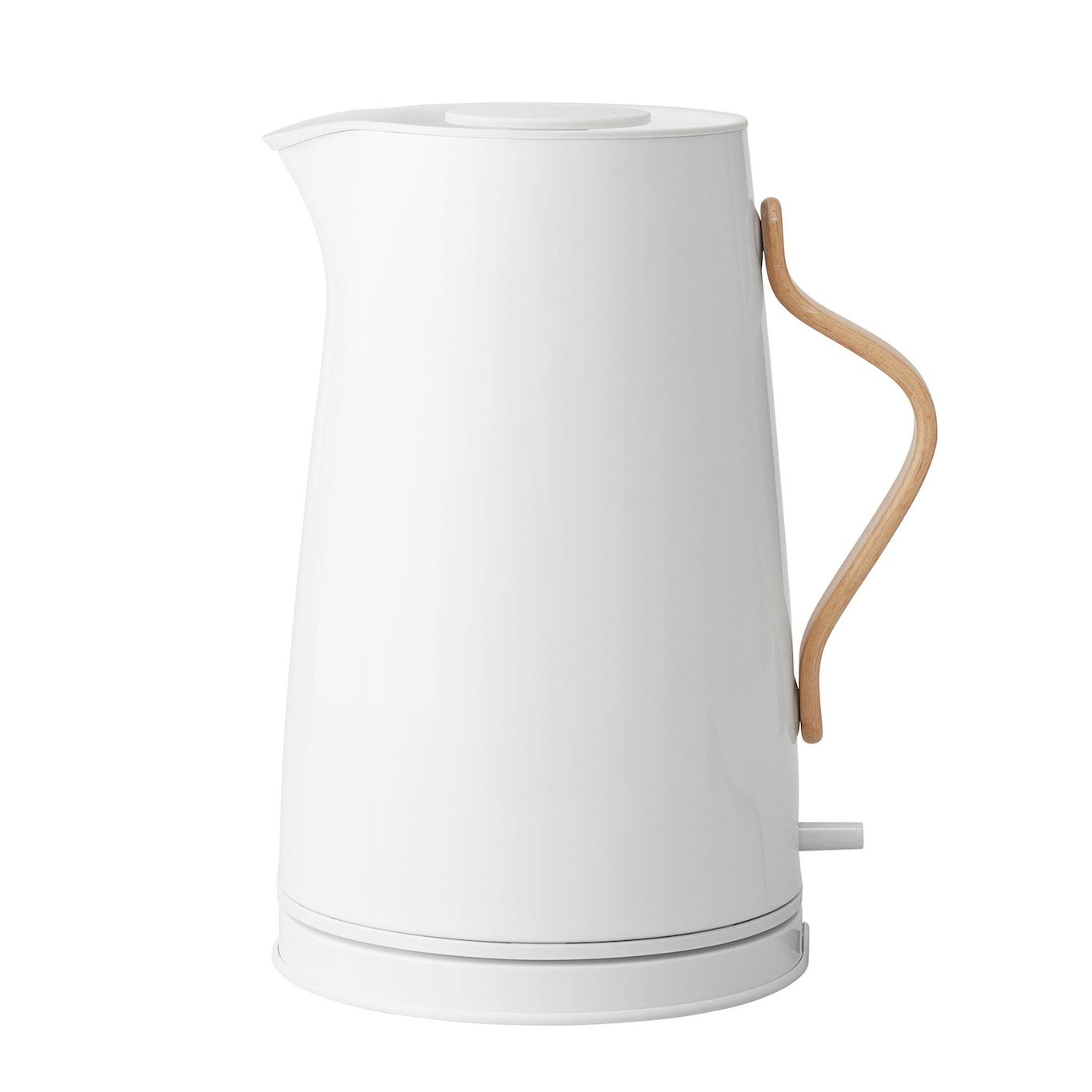 Emma Electric Kettle 1 2 L White White Kettle Kettle Modern Kitchen Cabinets