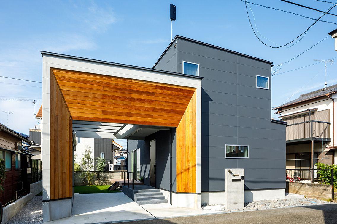 事例紹介 2020 住宅 外観 注文住宅 かっこいい家
