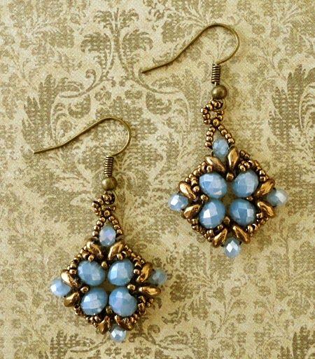 "Linda's Crafty Inspirations: More ""Noah Earrings"""