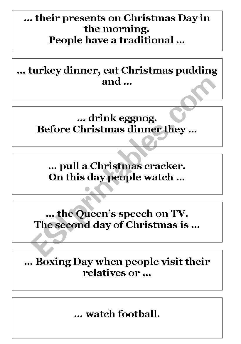 Christmas Jigsaw Reading Worksheet Christmas Jigsaws Holiday Worksheets Reading Worksheets [ 1169 x 821 Pixel ]