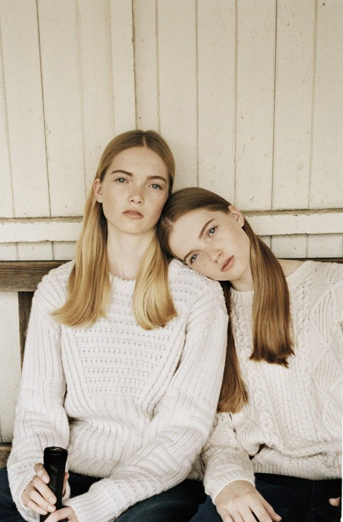 May & Ruth Bell :: Newfaces - double trouble, double divine!