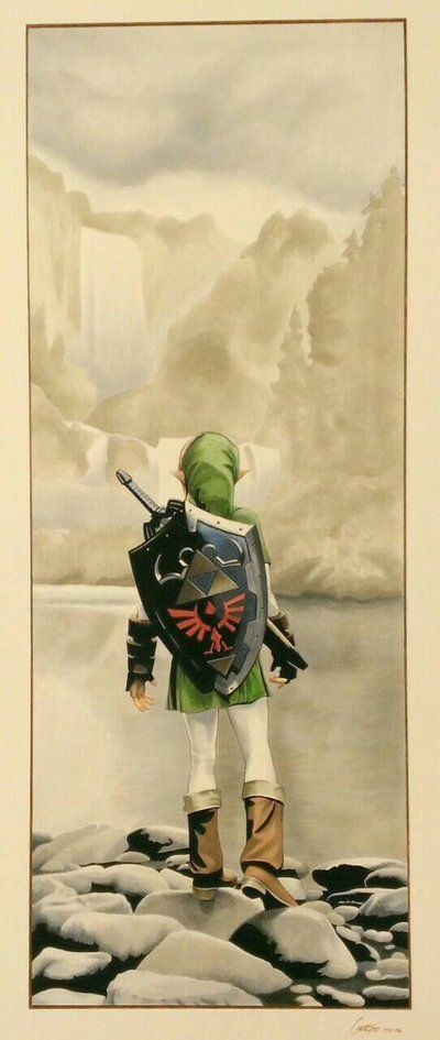 The Legend of Zelda by artofmadness on DeviantArt