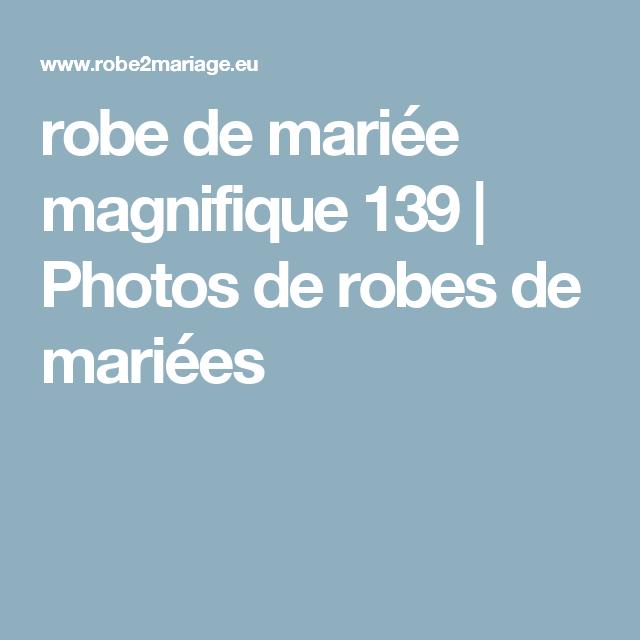 robe de mariée magnifique 139 | Photos de robes de mariées