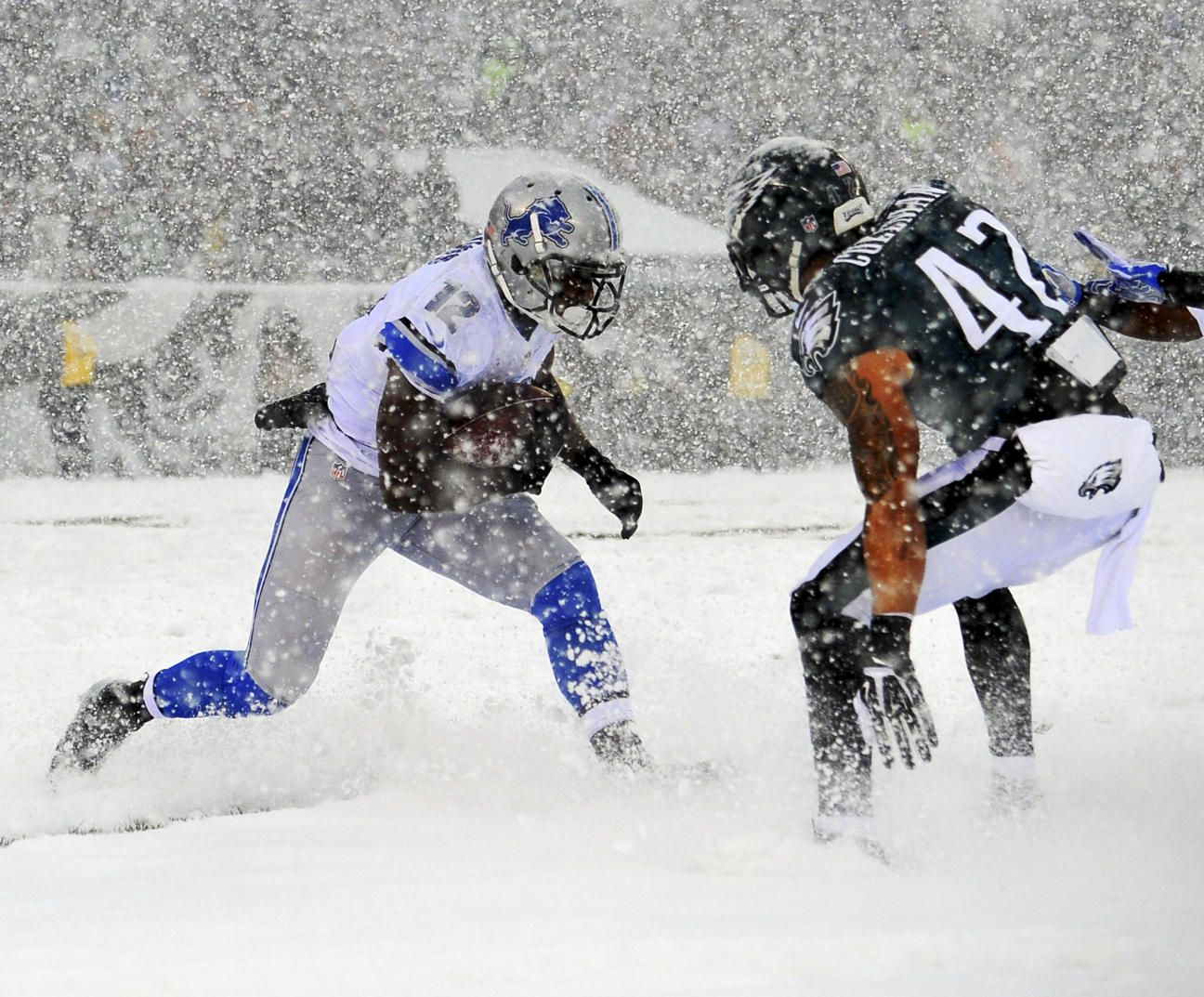 33ac2fc3 Detroit #Lions competed against the Philadelphia #Eagles in this ...