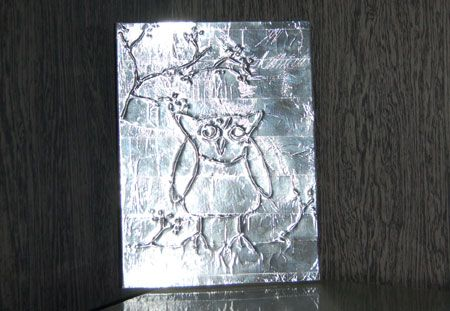 home dzine kids art with tin foil children s church pinterest