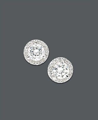 Halo Diamond Studs Macys