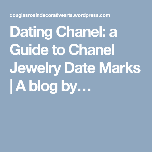 Dating Chanel-Schmuck Singles Dating-Events nyc