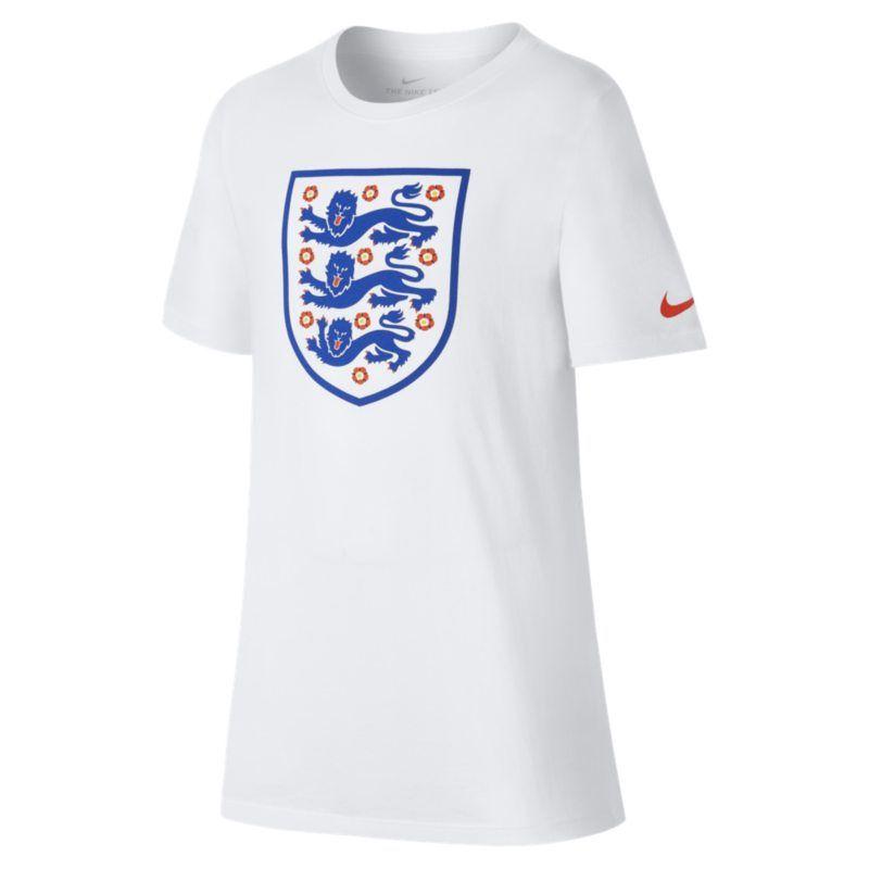 England Crest T Shirt White Kids