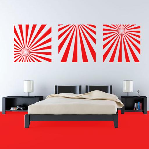 Vinilo Decorativo Cuadros Abstractos Cuadro Abstractos Disenos Geometricos Decoracion De Interiores