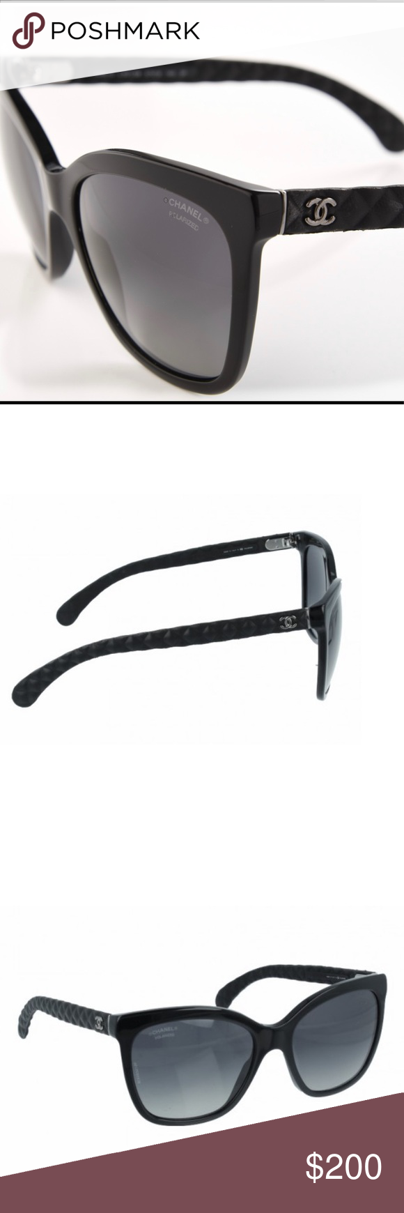 1c7e88d6db589 CHANEL SUNGLASSES! Authentic only. Real Chanel sunglasses. Perfect shape.  Polarized. Comes