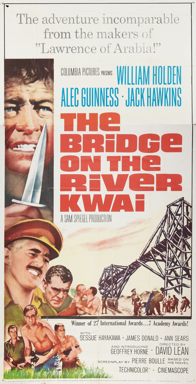 The Bridge On The River Kwai 1957 Director David Lean Classic Movie Posters David Lean Movie Nerd