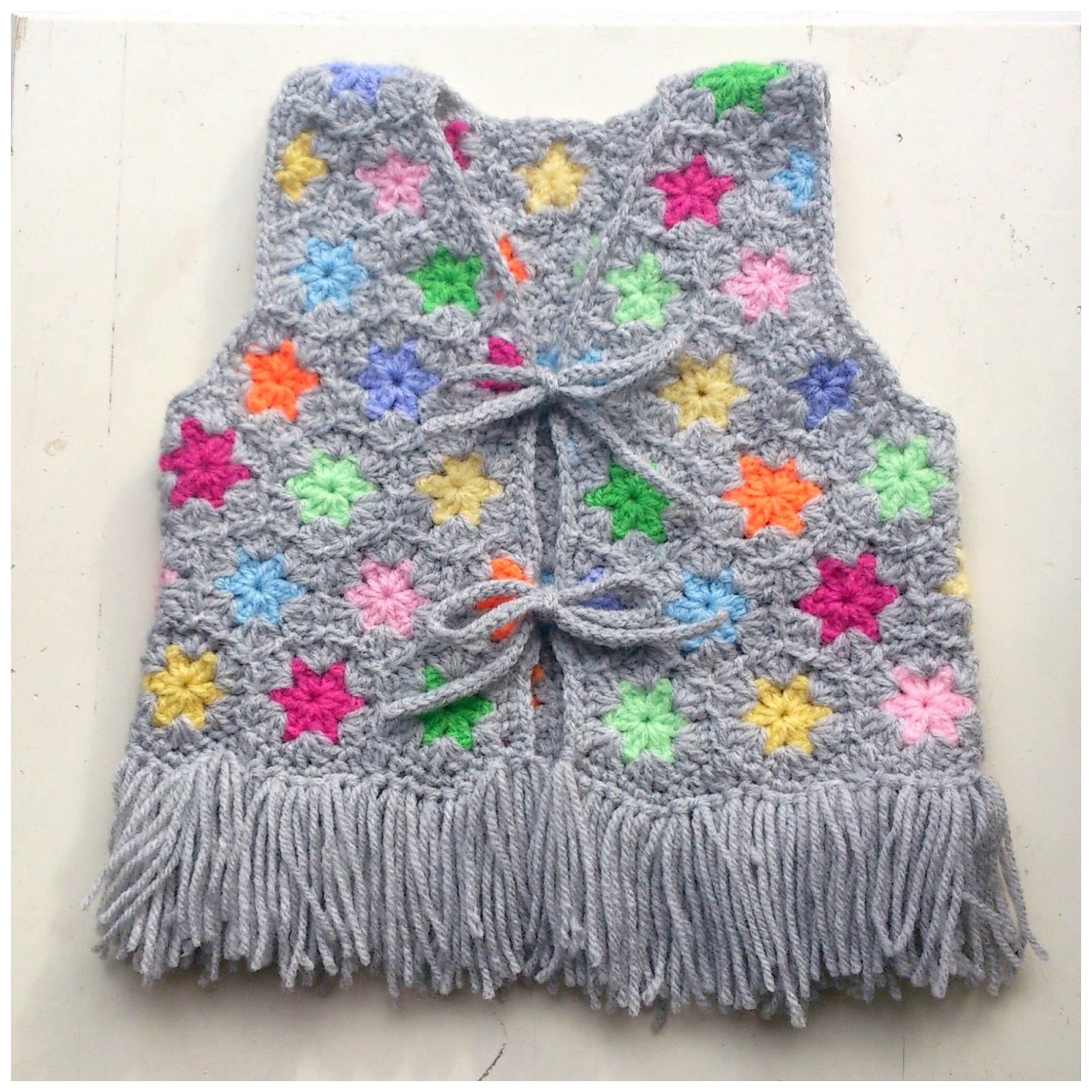 Little crochet babyvest | CHALECOS PARA TODOS | Pinterest ...