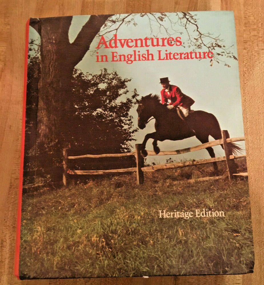 Adventures In English Literature Heritage Edition Grade 12