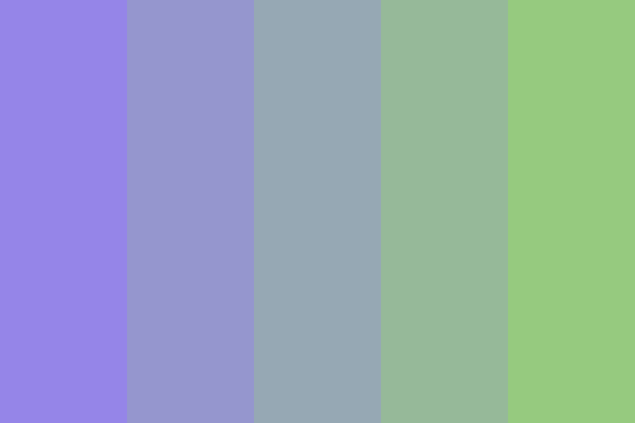 Periwinkle And Peridot Color Palette Blue Color Schemes Colour Schemes Periwinkle Blue