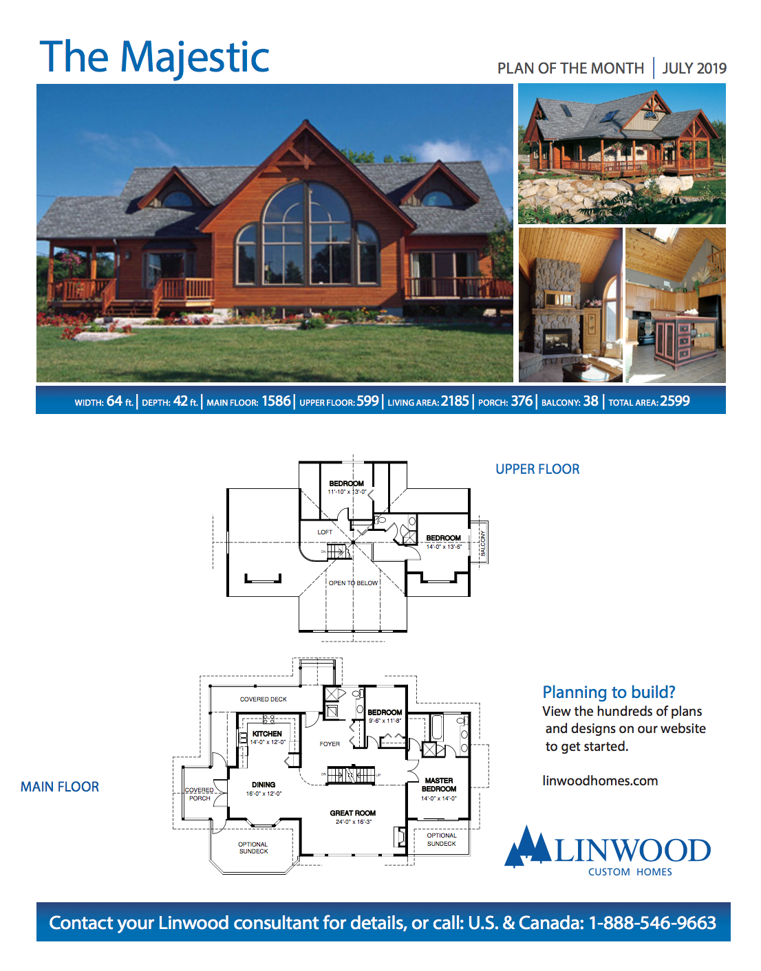 20 sq ft Cottage with Lake View   July Plan of the Month   by ...