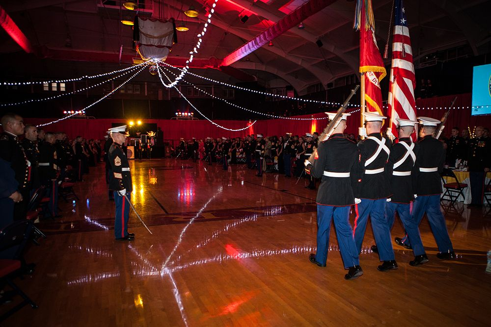 For Marines Only | ... Marines who fought valiantly and could attend only in spirit. Image