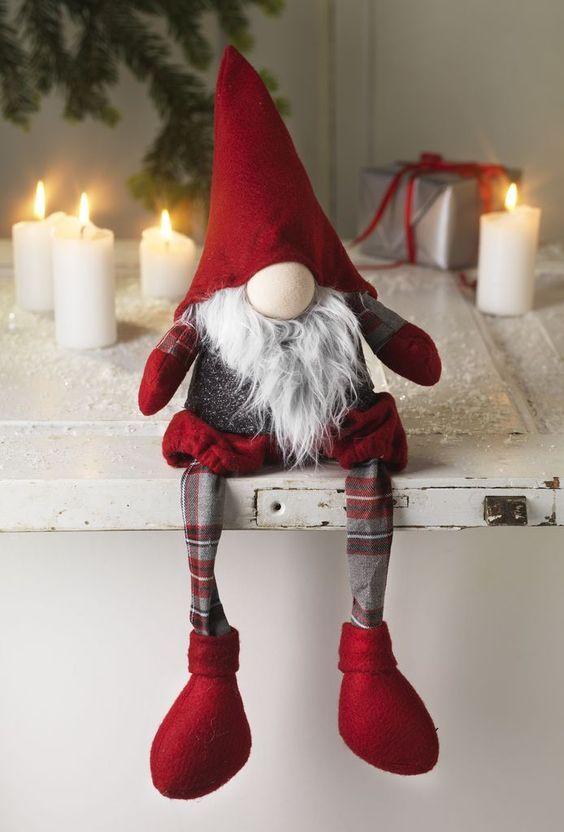 Skandynawskie Święta: | elfové-nápady | Christmas ornament ...