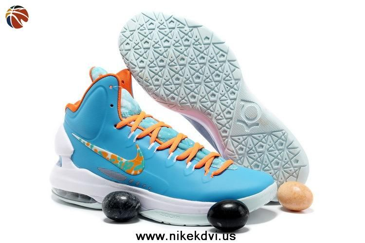 official photos 28bfb 864a6 Turquoise Blue Bright Citrus-Fiberglass 554988-402 Easter NIKE KD V